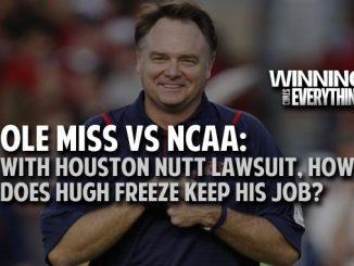 Houston Nutt vs Ole Miss