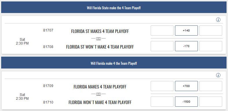 make 4 team playoff