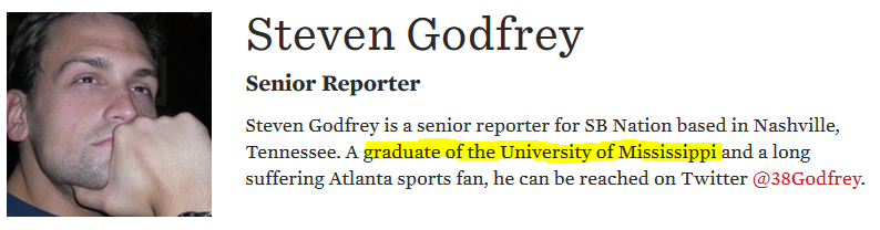 Steven Godfrey SBNation